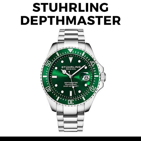 Stuhrling Depthmaster 3950Dive Watch