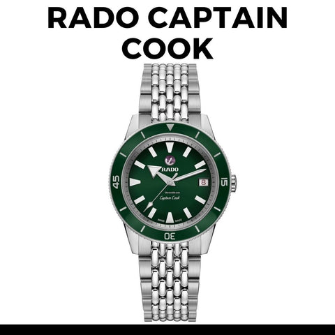 Rado Captain Cook R32105318 Watch