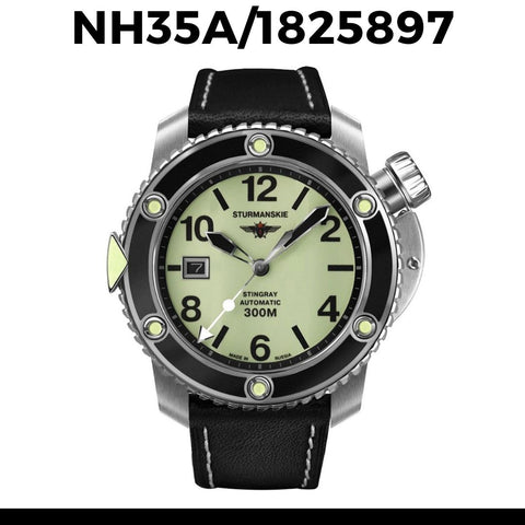 Sturmanskie Stingray Dive Watch NH35A-1825897