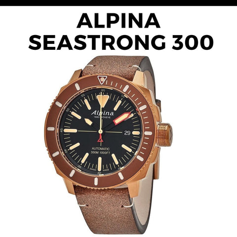 Alpina Seastrong 300 Automatic Watch