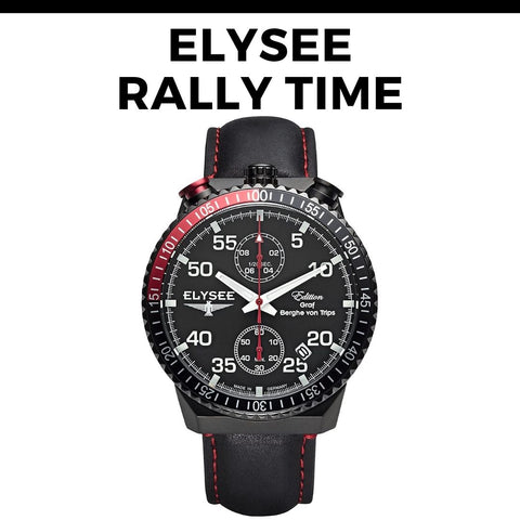Elysee Rally Time Watch