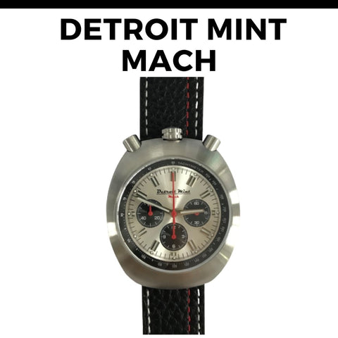 Detroit Mint Mach Bullhead Watch