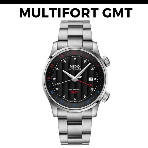 Mido Multifort GMT Watch