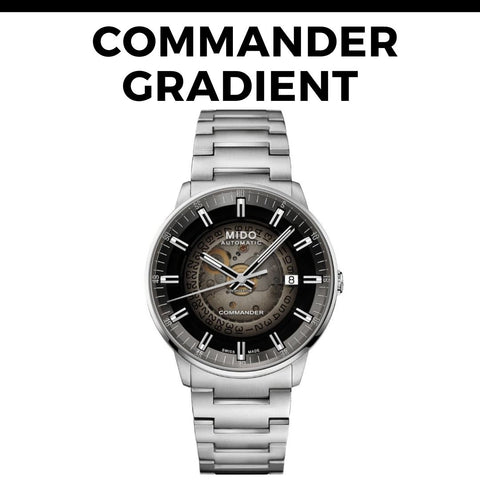 Mido Commander Gradient Watch