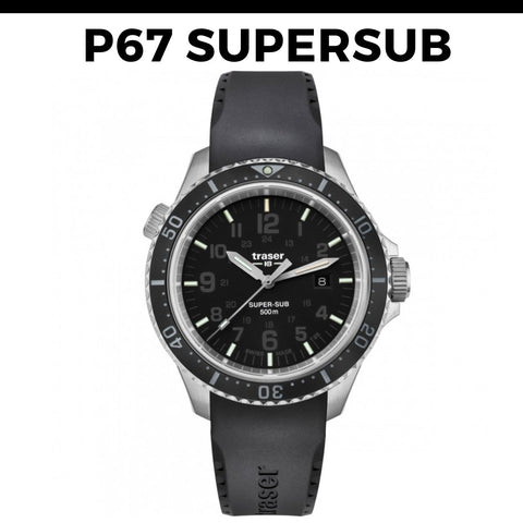 Traser P67 Supersub Watch