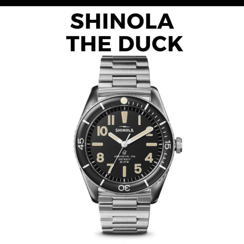 Shinola The Duck Dive Watch