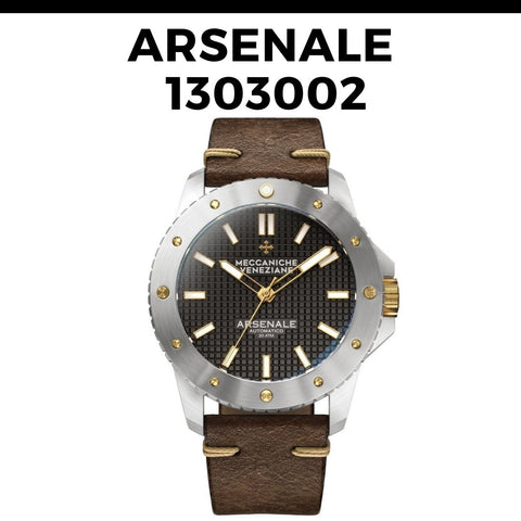 Meccaniche Veneziane Arsenale 1303002 Watch