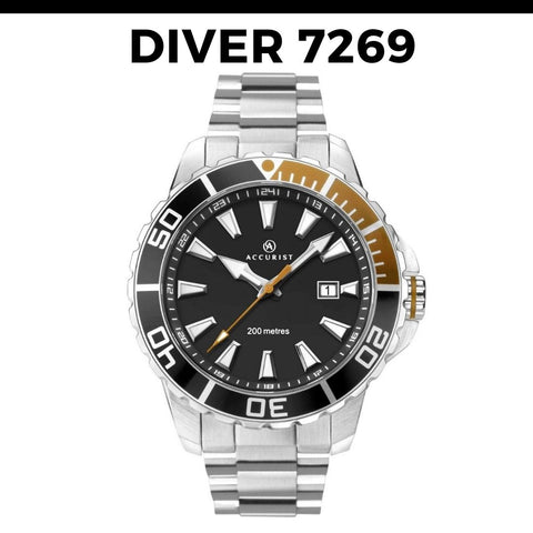Accurist Divers Watch 7269
