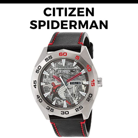 Citizen Spiderman Watch