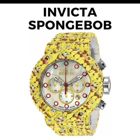 Invicta Spongebob Watch