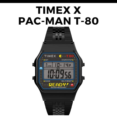 Timex x Pac-Man T-80 Watch