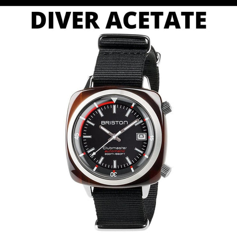 Briston Diver Acetate Watch