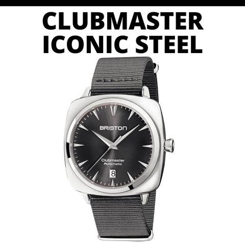 Briston Clubmaster Iconic Steel Watch