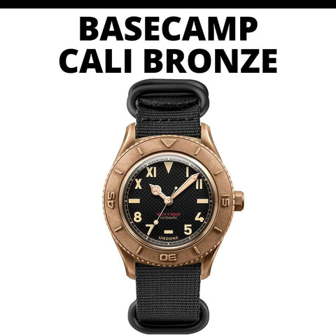 Undone Basecamp Cali Bronze Watch