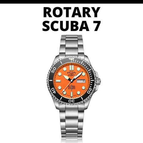 Rotary Scuba 7 Dive Watch