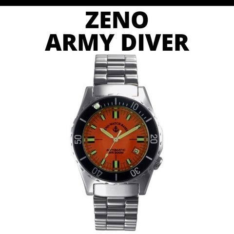 Zeno Army Diver Watch