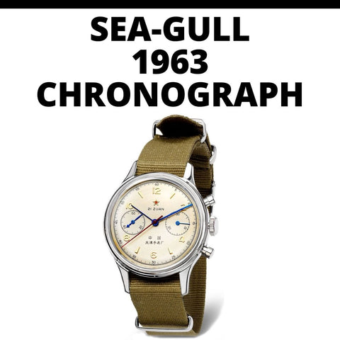 Seagull 1963 Chronograph Watch