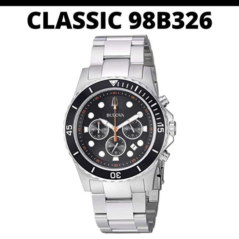 Bulova Classic 98B326 Chronograph Watch