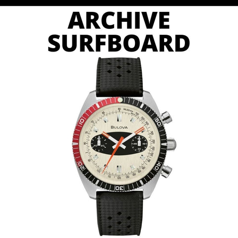 Bulova Archive Surhboard Watch