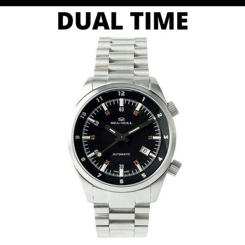 Seagull Dual Time Watch