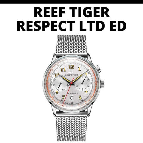Reef Tiger Respect Watch