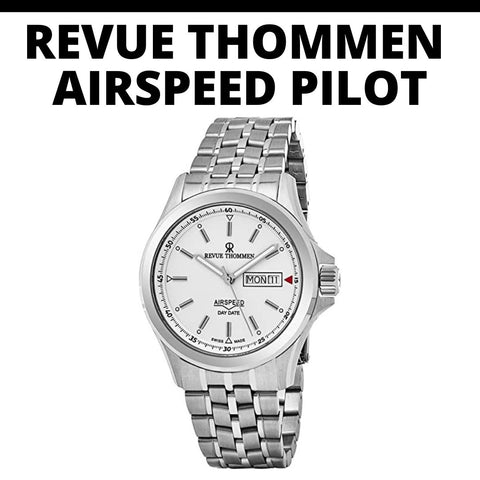 Revue Thommen Airspeed Pilot Watch
