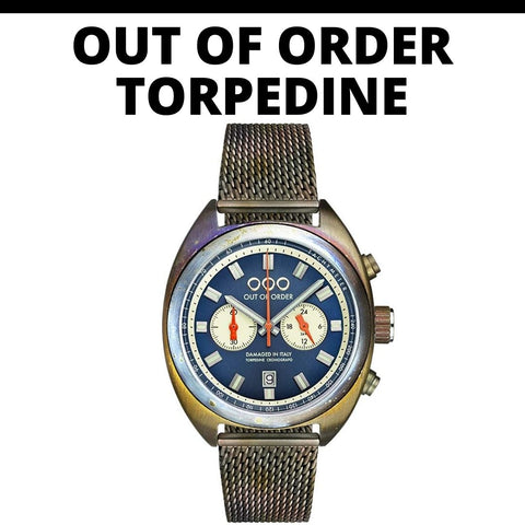 Out of Order Torpedine Watch