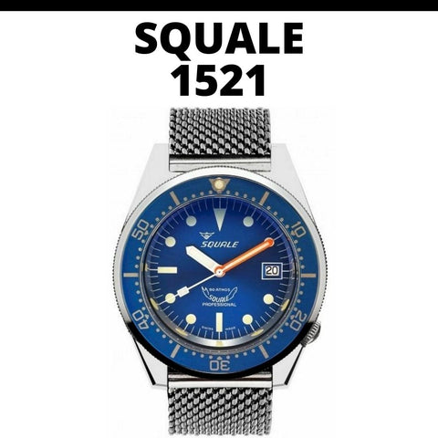 Squale 1521 Watch