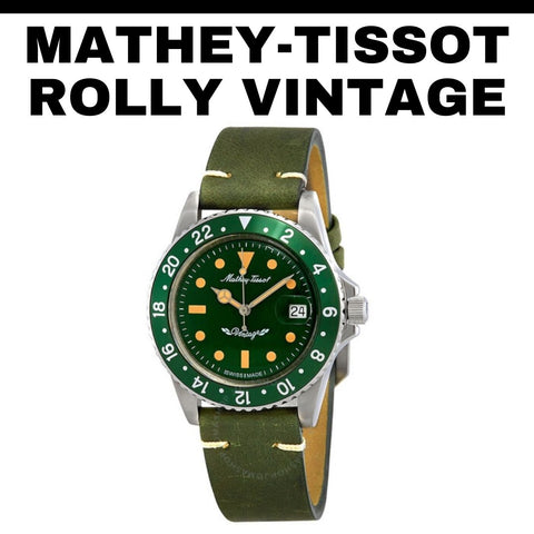 Mathey-Tissot Rolly Vintage Watch