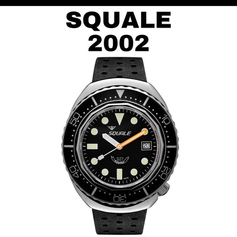 Squale 2002 Black Dots Watch