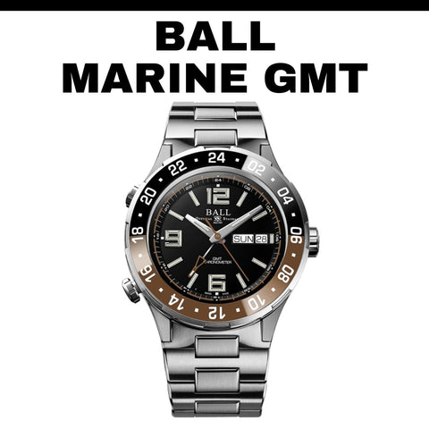 Ball Marine GMT Root Beer