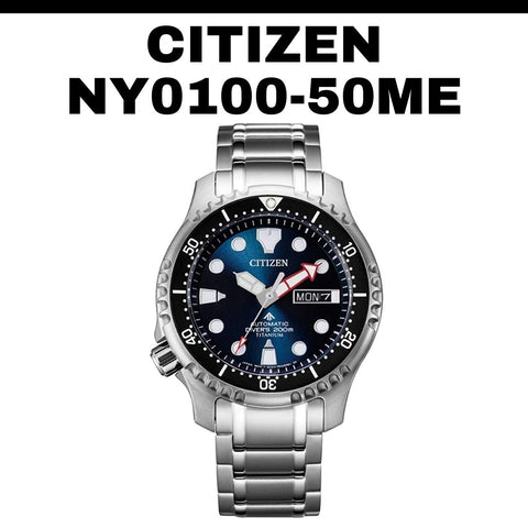 Citizen Left-Handed Automatic Watch