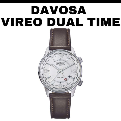 Davosa Vireo Dual Time Watch