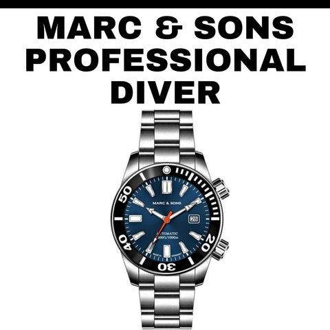 Marc and Sons Professional Diver's Watch