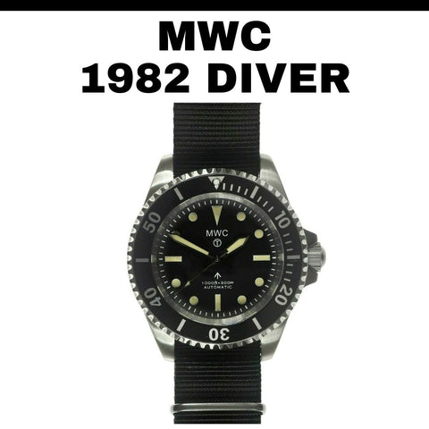 MWC 1982 Diver's Watch