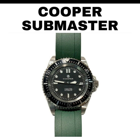 Cooper Submaster Milsub Homage Watch