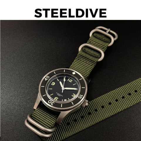 Steeldive Fifty Fathoms Watch