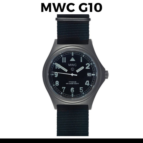 MWC Titanium G10 Watch