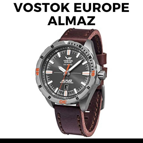 Vostok Europe Almaz Titanium Watch