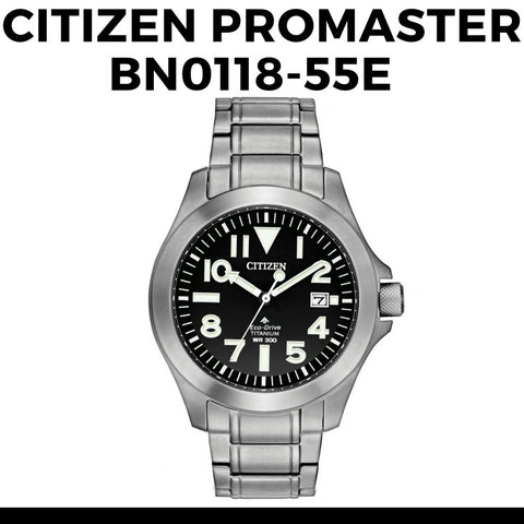 Citizen Promaster Titanium Watch