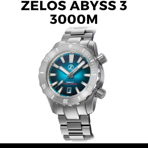 Zelos Abyss 3 3000M Watch