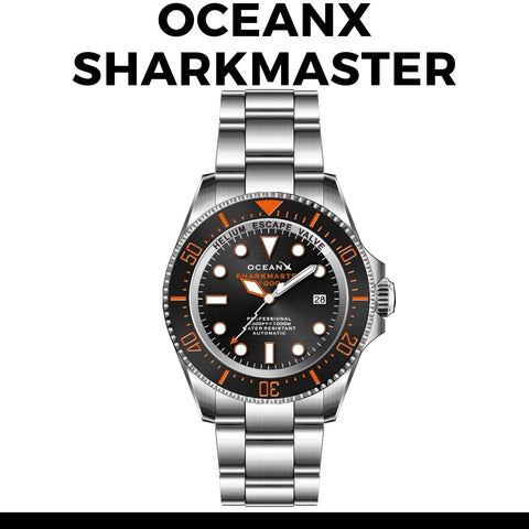 OceanX Sharkmaster Watch
