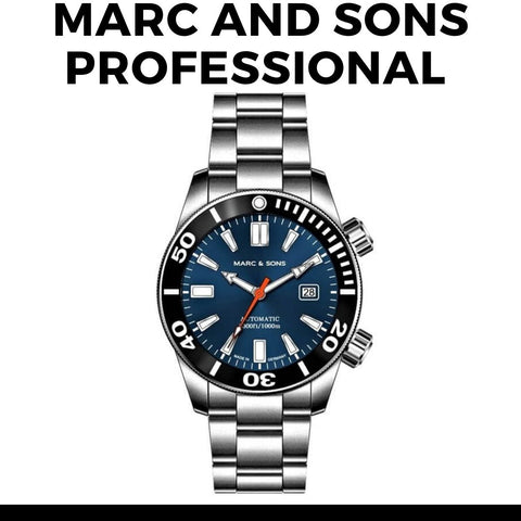 Marc and Sons Professional Dive Watch