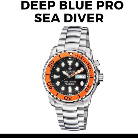 Deep Blue Pro Sea Diver Watch