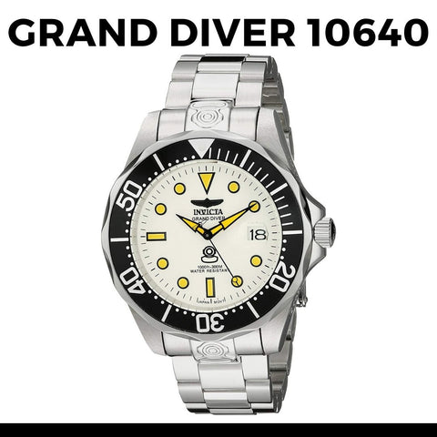 Invicta Dive Watches A Selection of Our Favourites