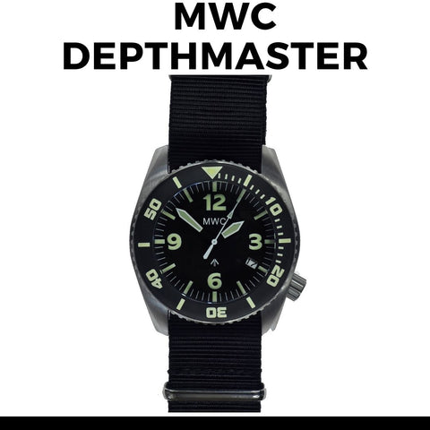 MWC Depthmaster 1000M Dive watch