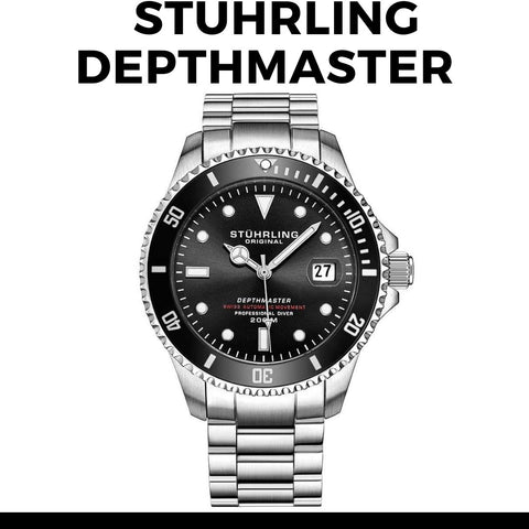 Stuhrling Depthmaster Dive Watch