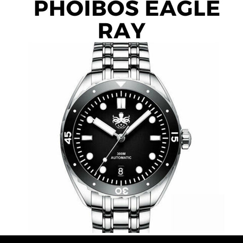 Phoibos Eagle Ray Dive Watch