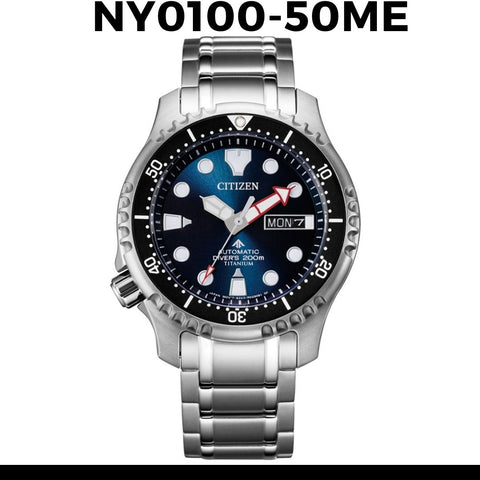 Citizen Promaster Automatic Watch NY0100-50ME