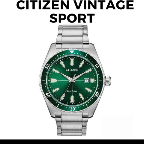 Citizen Eco-Drive Sports Watch